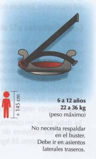 Dispositivo de seguridad para transportar a niños que se encuentren en el grupo 3